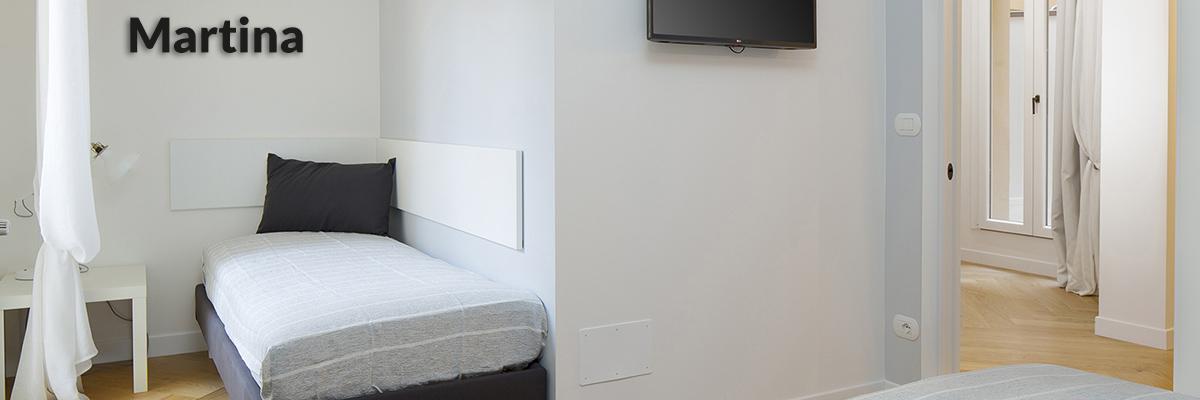 Appartamento Martina camera da letto