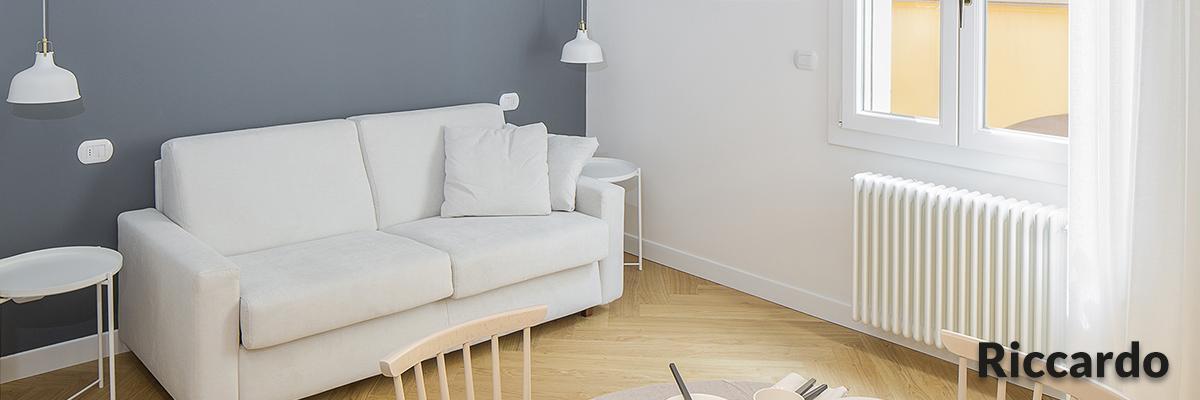 Appartamento Riccardo salotto