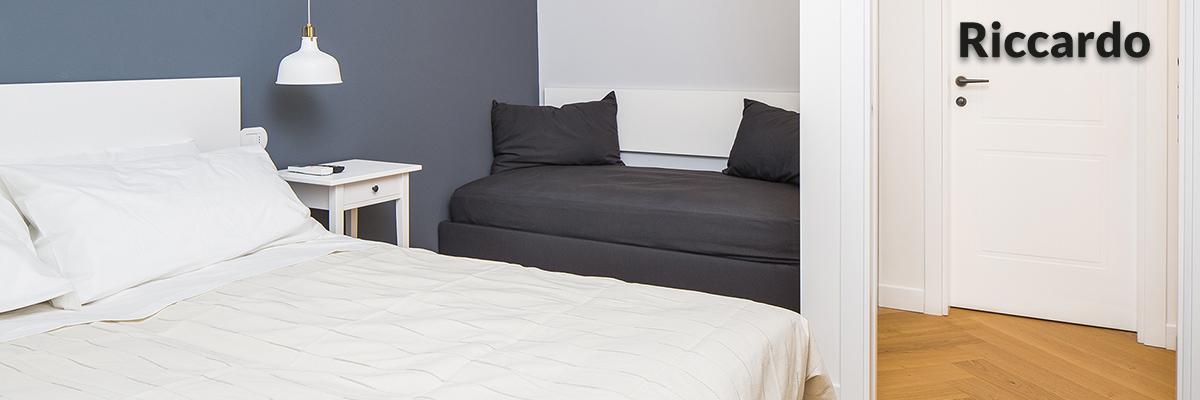Appartamento Riccardo camera da letto